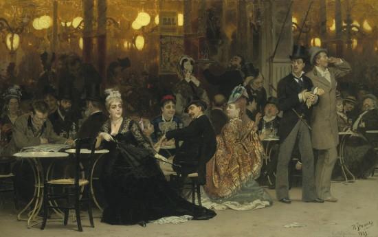 ilya-repin-un-cafe-parisien