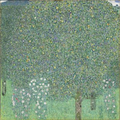 10-gustave-klimt-rosiers-sous-les-arbres-1905