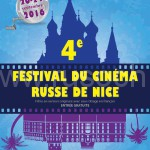 Affiche 4 festival cinema russe de Nice fr