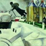 Война и мир Марка Шагала   Entre guerre et paix de Marc Chagall