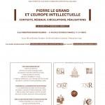 Коллоквиумы «Петр Великий и Европа наук и искусств» | Les colloques Pierre I