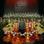 Хор Красной Армии колесит по Франции   Les chœurs de l'Armée Rouge ont conquis le public français