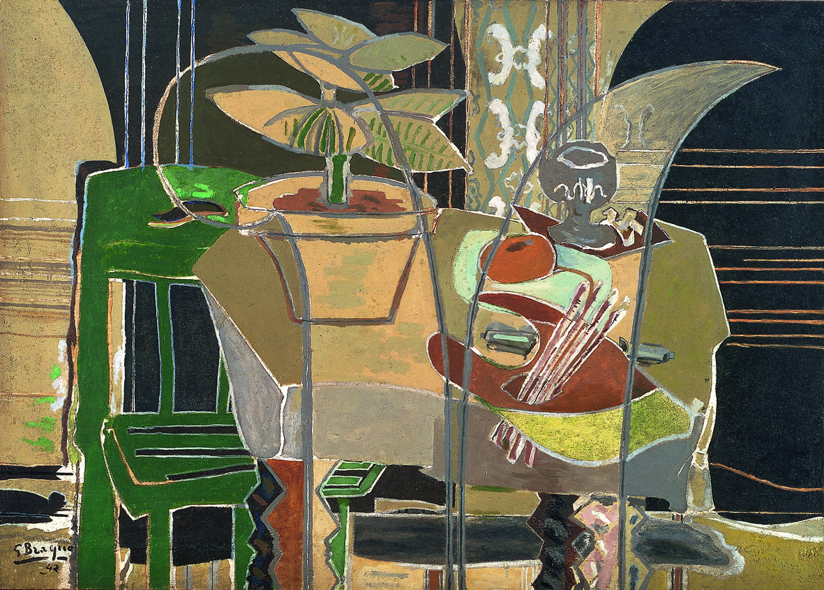 Georges braque r trospective for Braque oeuvres