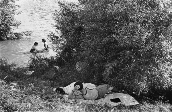 FRANCE. Ile de France. Along the Marne river. First paid vacations. 1936.