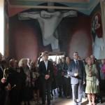 Бегов подарил фрески французским детям | Begov a offert des fresques à des enfants français