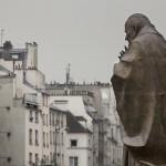 В Париже торжественно открыли памятник Иоанну Павлу II  Зураба Церетели   La sculpture de Saint Jean Paul II  du sculpteur russe Zourab Tsereteli  a trouvé sa place près de Notre-Dame de Paris