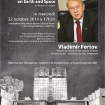 "В.Е.Фортов в «Коллеж де Франс» |M. Vladimir Fortov au ""Collège de France"""