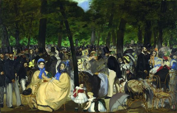 Manet, La musique aux Tuileries