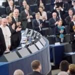 Визит Папы Римского в сердце европейской политики | La visite du Pape au cœur de la politique européenne
