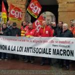 Левые ушли вправо. Закон Макрона продолжение следует…  La gauche avance d'un pas vers la droite: La loi Macron une affaire à suivre.