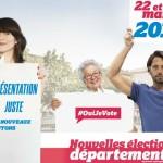 Выборы в Департаментские советы Франции -  прогнозируемый прорыв Нацфронта|Les élections départementales en France: Une percée prévisible du FN