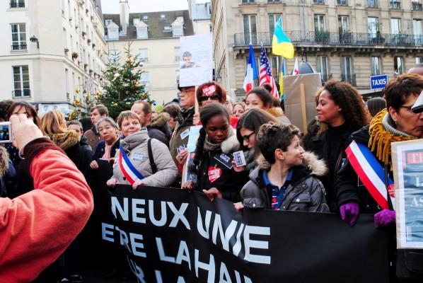 Париж, 11 января 2015.  Photo Ogoulbibi Marias.