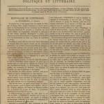Пресса на французском в императорской России | La presse en français dans la Russie impériale