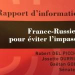 Французские сенаторы: «нам нужна Россия».  Они предлагают отказаться от санкций  Sénat français : «nous avons besoin de la Russie». Ils offrent de renoncer aux sanctions.