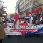 Марш в поддержку России в борьбе против терроризма   Marche de soutien à la Russie dans la lutte antiterroriste