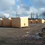 «Врачи без границ» построили лагерь для мигрантов | Médecins sans Frontières ont aménagé un nouveau site pour des réfugiés