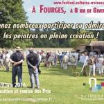 Франция, Нормандия, городок Фурж   La 4ème édition du Concours International de Peinture en Plein Air à Fourges