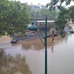 Париж слегка затопило | Paris sous la pluie