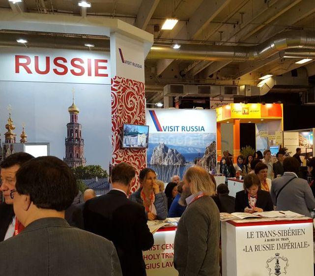 Города FIFA 2018 на международной выставке в Париже |L'industrie touristique russe prête à accueillir la prochaine coupe du monde de la FIFA en 2018