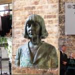 Бюст Цветаевой открыли в Ванве | Le buste de Tsvetaïéva est inauguré à Vanves