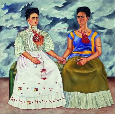 Kahlo Frida (1907-1954). Mexique, Mexico, Museo Nacional de Arte Moderno.