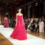 Юлия Янина на модной Неделе Парижа