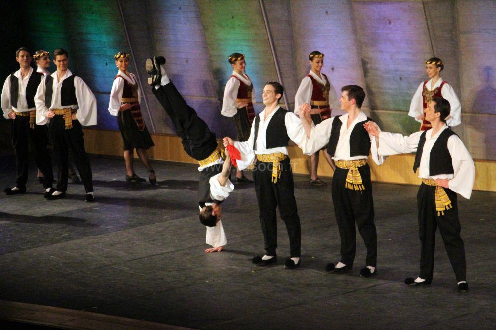 Юбилей ансамбля Моисеева в Париже   Jubilé du ballet Igor Moïsseïev à Paris
