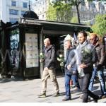Утро после теракта на Елисейских полях | Attaque sur les Champs-Elysees.Le matin 21 avril 2017