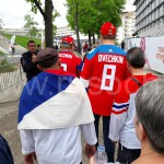 Как фанаты болели за россиян в Париже