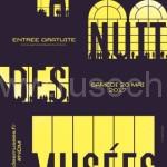 Европейская ночь музеев в 13 раз |13e édition de la Nuit européenne des musées